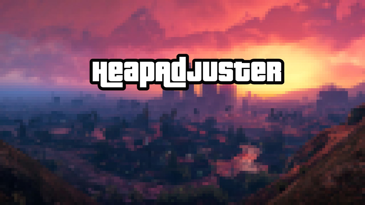 افزونه HeapAdjuster برای GTA V