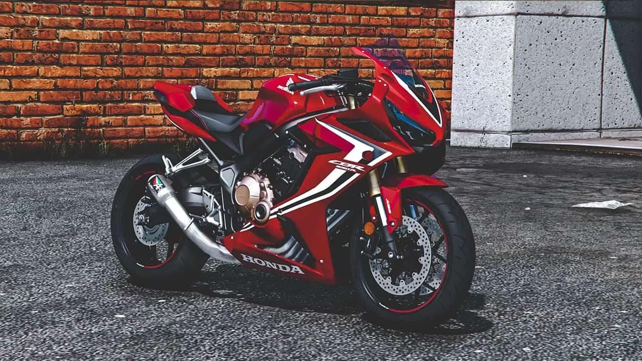 موتور سیکلت Honda CBR650R برای GTA V