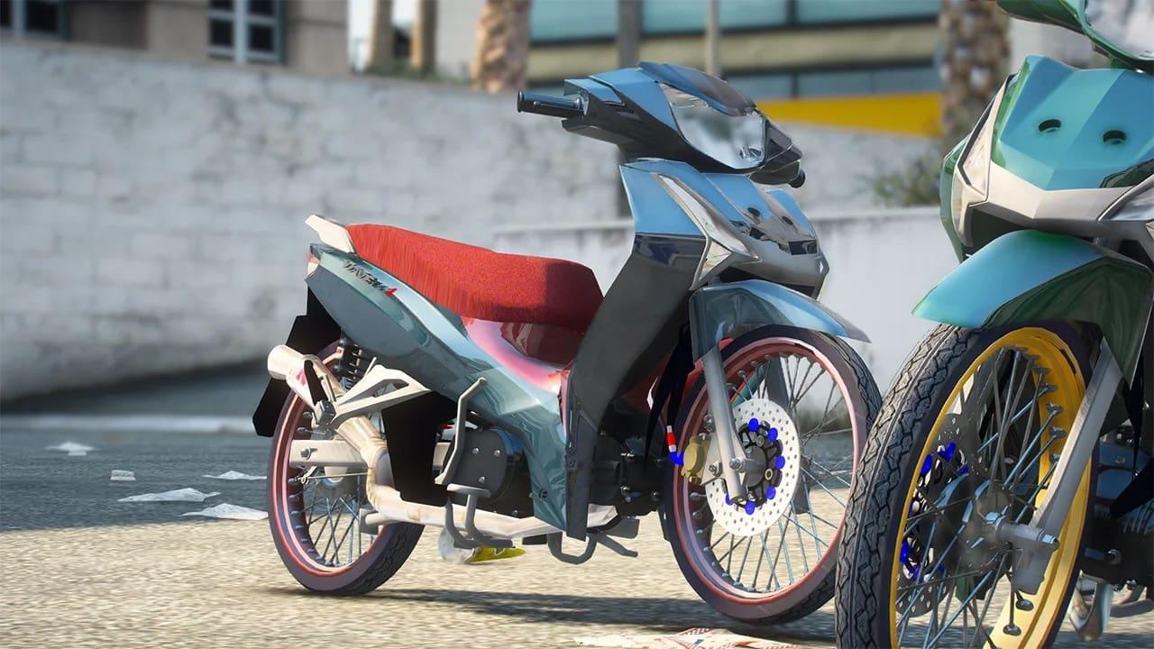 موتور سیکلت Honda Wave 125i برای GTA V