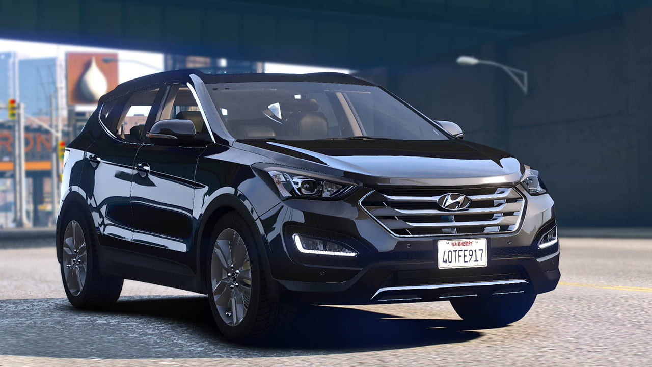 خودرو Hyundai Santa Fe 2015 برای GTA V