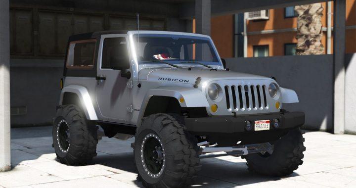 خودرو Jeep Wrangler 2013 برای GTA V
