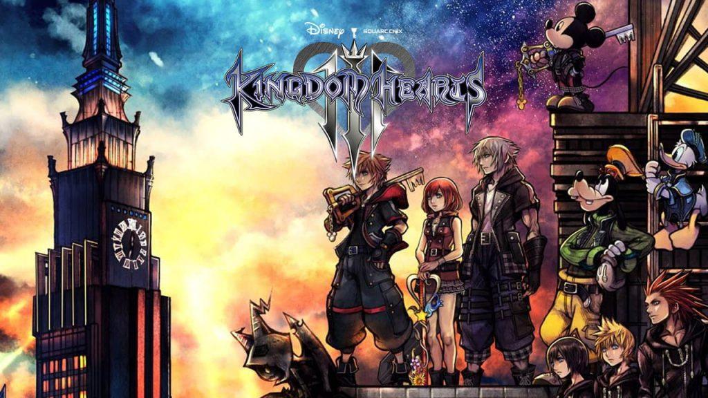 ترینر بازی Kingdom Hearts 3