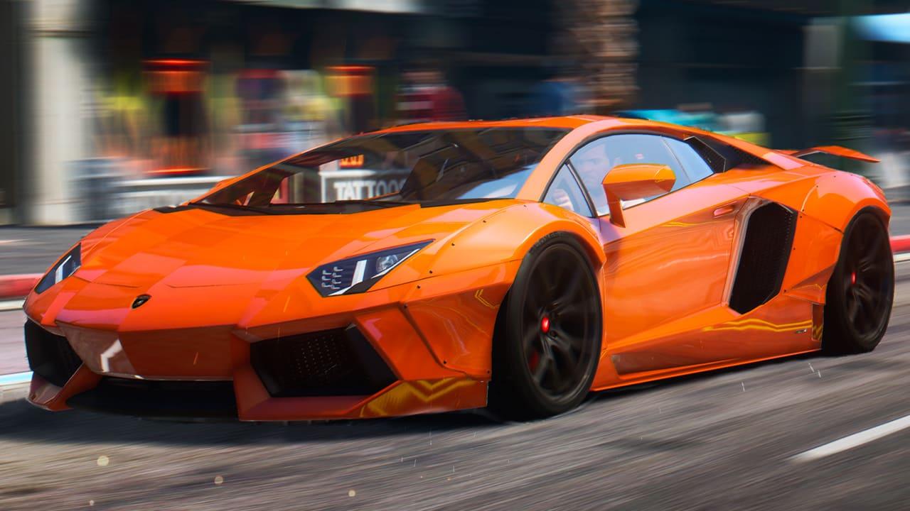 خودرو Lamborghini Aventador 2015 برای GTA V