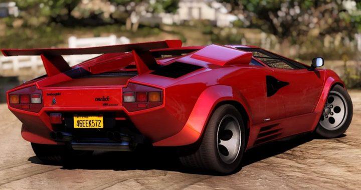 خودرو Lamborghini Countach 1988 برای GTA V