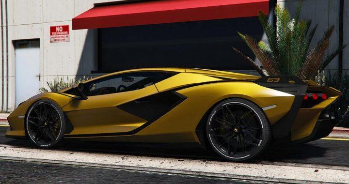 خودرو Lamborghini Sian FKP 37 برای GTA V