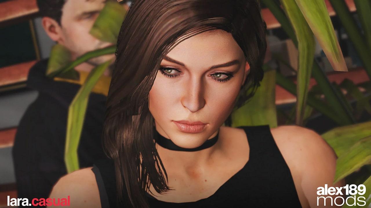 کاراکتر Lara Croft برای GTA V