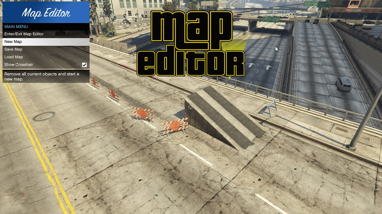 Map Editor برای GTA V
