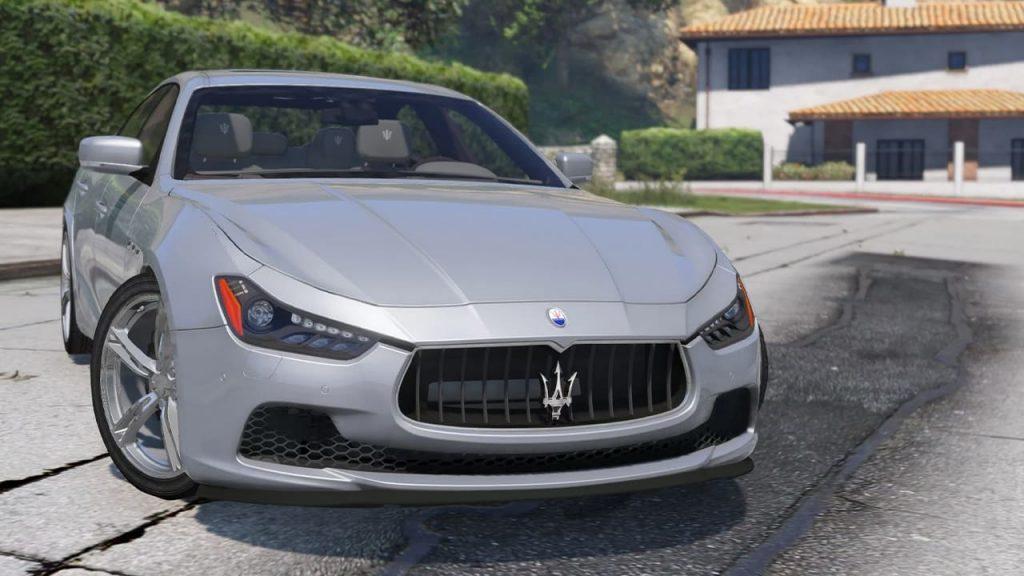 خودرو Maserati Ghibli برای GTA V