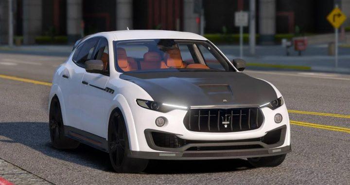 خودرو Maserati Levante Mansory برای GTA V