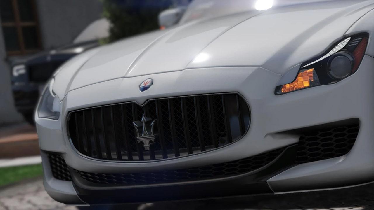 خودرو Maserati Quattroporte 2015 برای GTA V