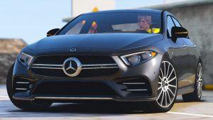 خودرو Mercedes Benz AMG CLS 53 2019 برای GTA V