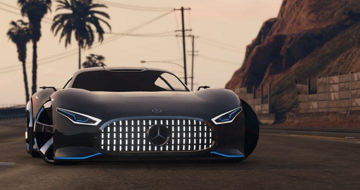 خودرو Mercedes Benz AMG Vision GT برای GTA V