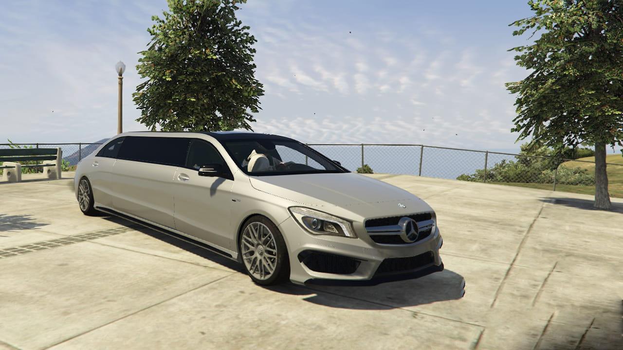 خودرو Mercedes Benz CLA 45 AMG Limousine برای GTA V
