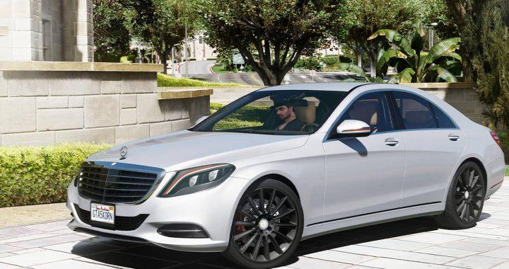 خودرو Mercedes Benz S500 2014 برای GTA V