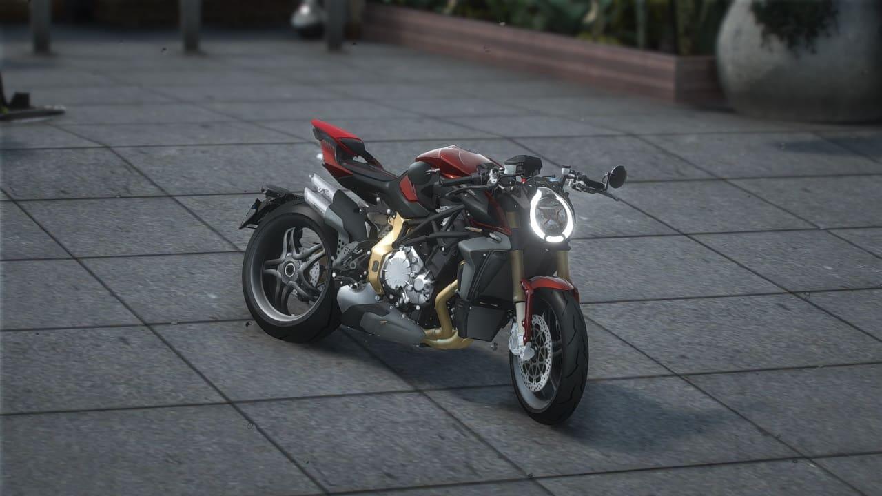موتور سیکلت MV Agusta Brutale 1000 Serie Oro 2019 برای GTA V