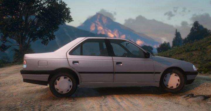 خودرو پژو آردی برای GTA V