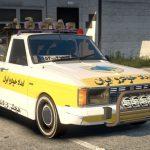 خودرو پیکان وانت امداد خودرو برای GTA V