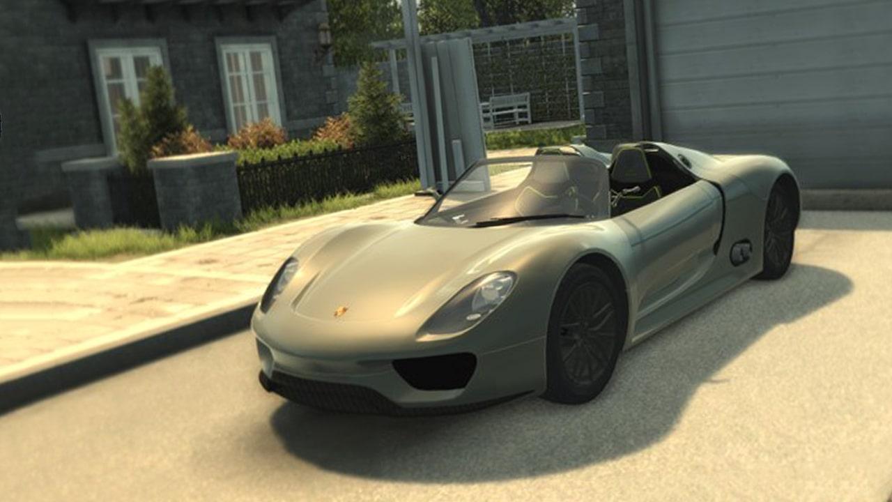 خودرو Porsche 918 Spyder برای Mafia 2
