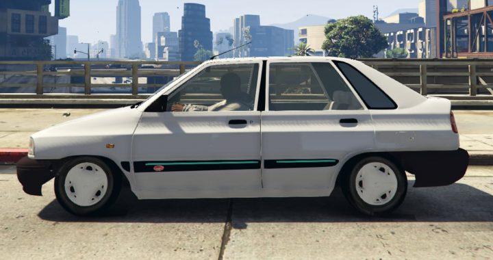 خودرو پراید 141 برای GTA V