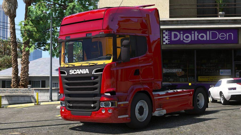 کامیون Scania R730 Streamline برای GTA V