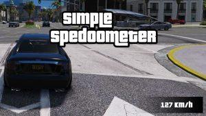 مد سرعت سنج برای GTA V
