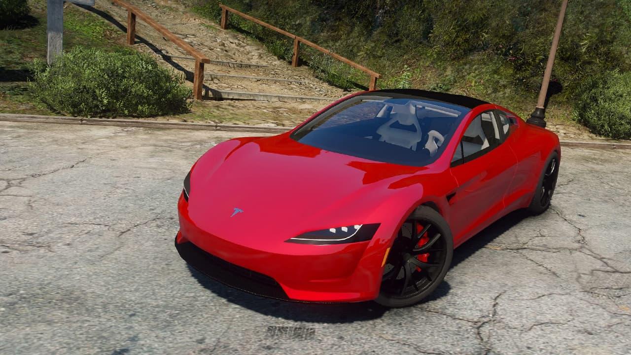 خودرو Tesla Roadster 2020 برای GTA V