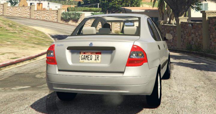 خودرو تیبا برای GTA V