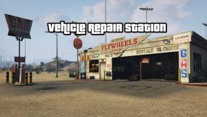 مد Vehicle Repair Station برای GTA V