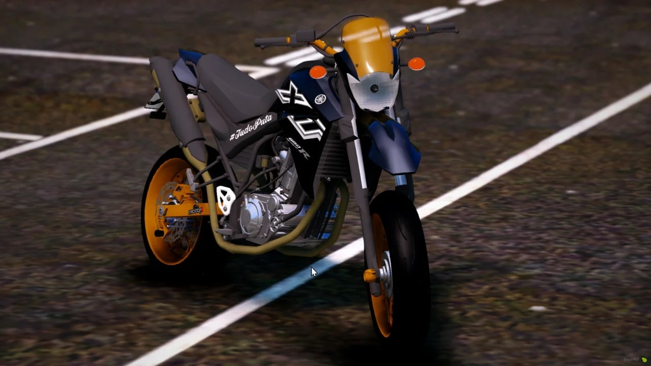 موتور سیکلت Yamaha XT660R برای GTA V