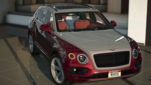 خودرو Bentley Bentayga برای GTA V