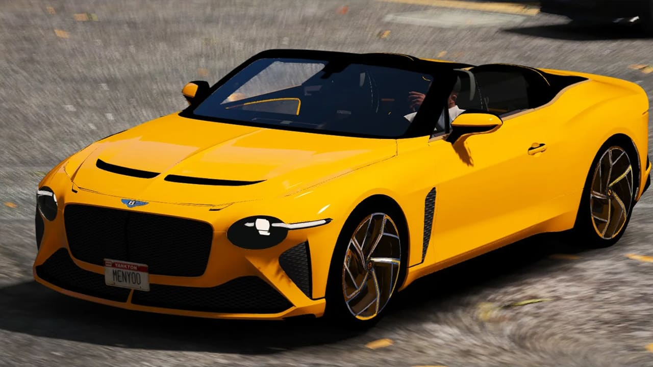 خودرو Bentley Mulliner Bacalar 2021 برای GTA V