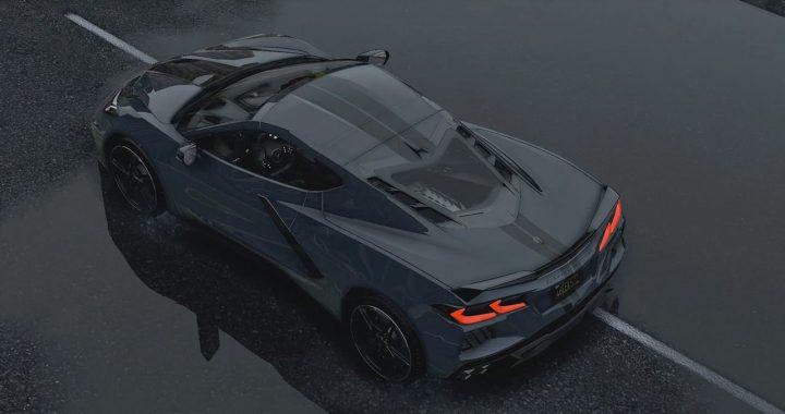 خودرو Chevrolet Corvette C8 2020 برای GTA V