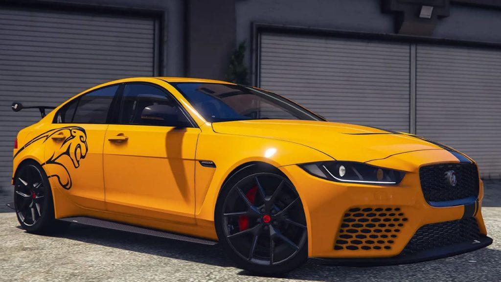 خودرو Jaguar XE SV Project 8 2018 برای GTA V