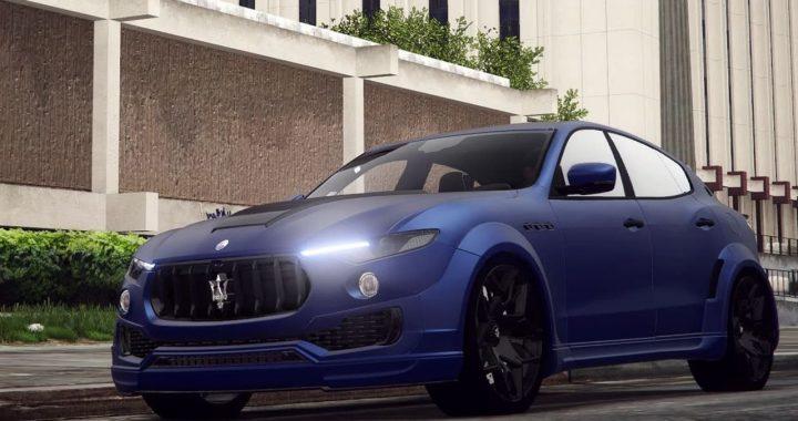 Maserati Levante Novitec برای GTA V