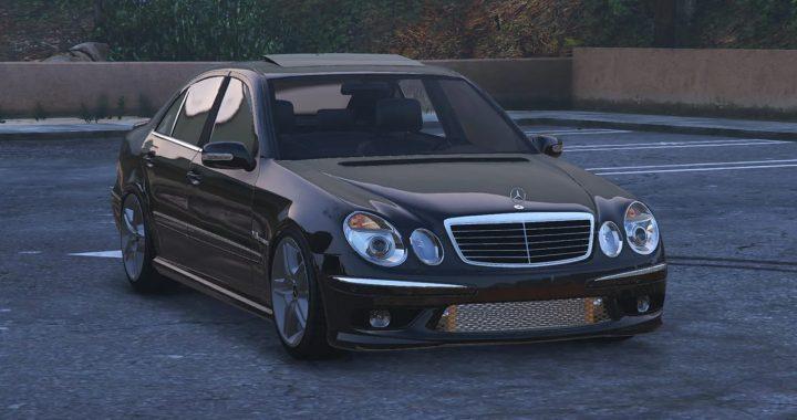 خودرو Mercedes Benz E55 AMG برای GTA V