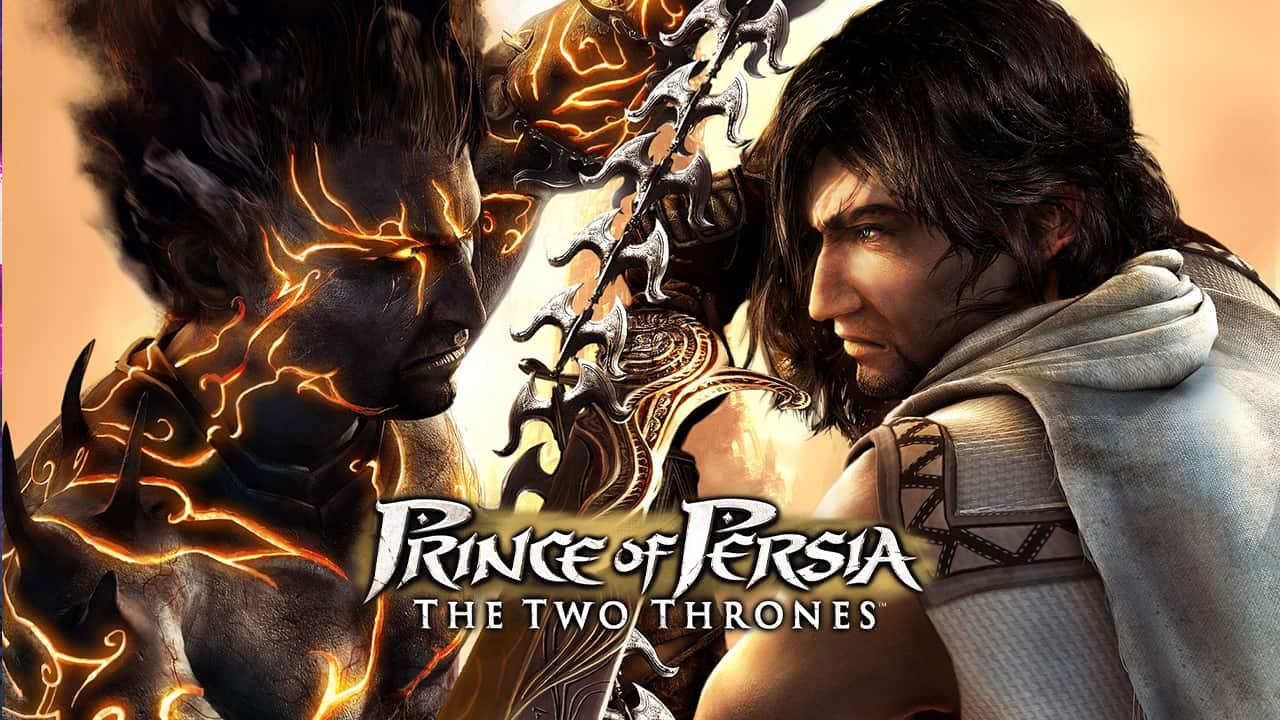 ترینر بازی Prince of Persia The Two Thrones