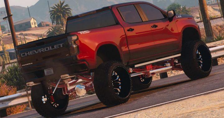 خودرو Chevrolet Silverado Trail Boss 2020 برای GTA V