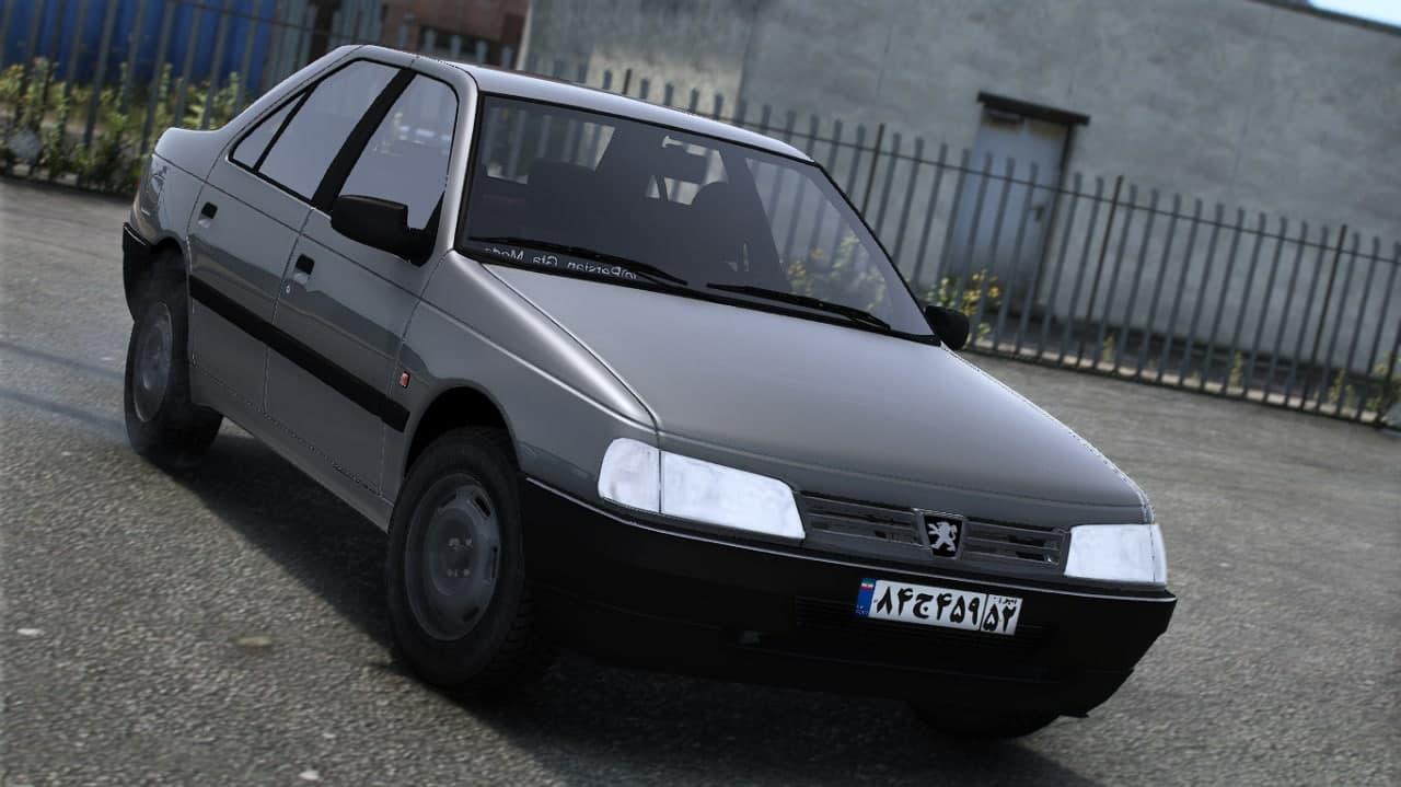 خودرو پژو روآ سال برای GTA V