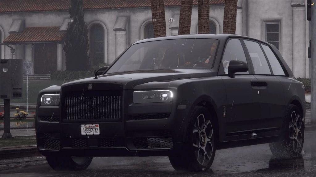 خودرو Rolls Royce Cullinan برای GTA V