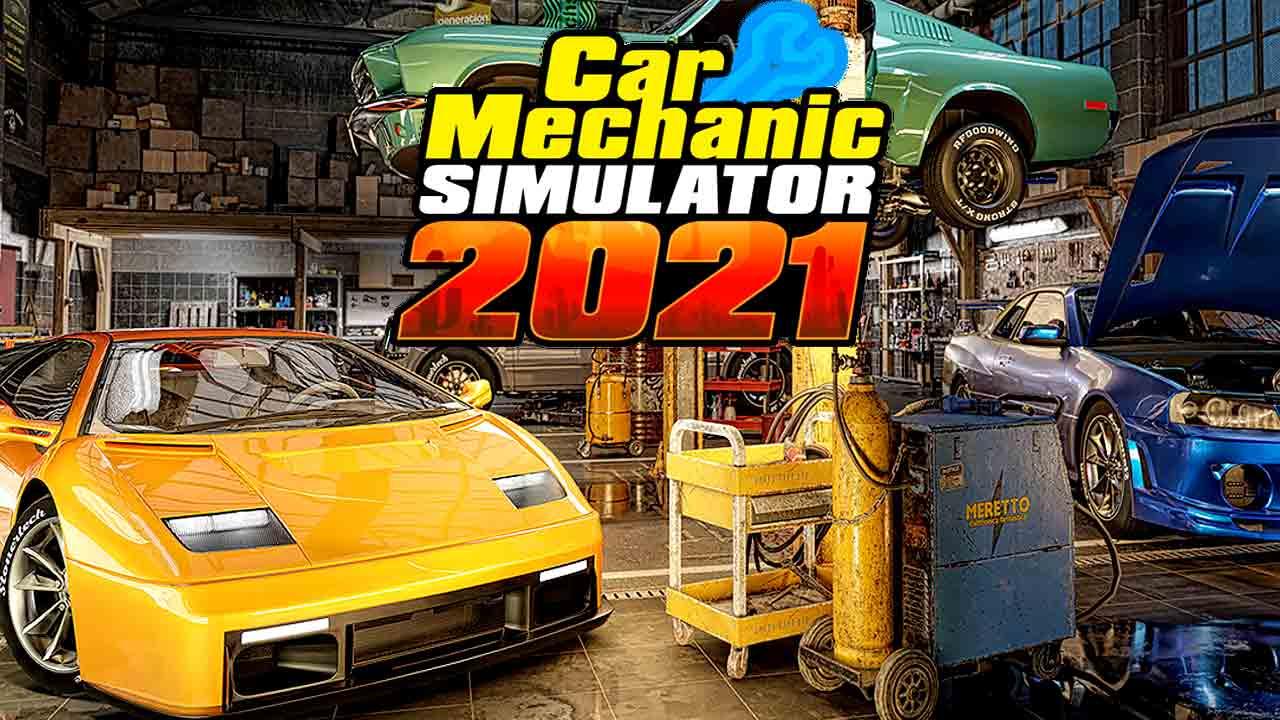 ترینر Car Mechanic Simulator 2021