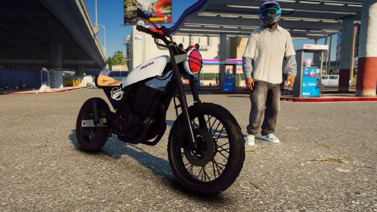 موتور سیکلت Honda Twister 250 Paragon برای GTA V
