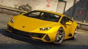 خودرو Lamborghini Huracan EVO برای GTA V