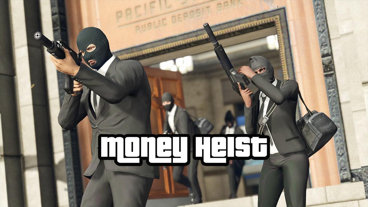 مد Money Heist برای GTA V