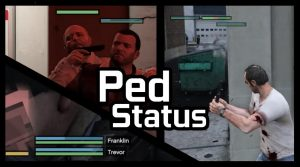 مد Ped Status برای بازی GTA V