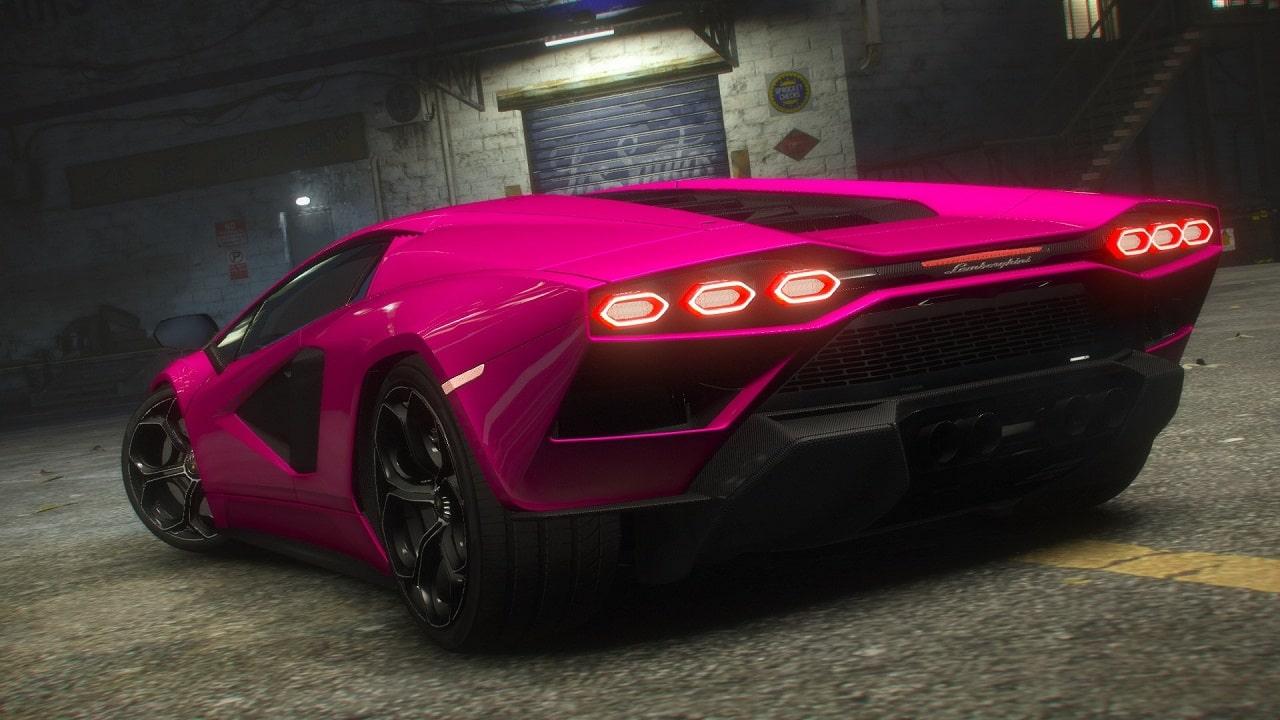 Lamborghini Countach LPI 800-4 2022 GTA V