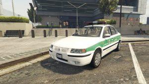 خودرو سمند پلیس برای GTA V
