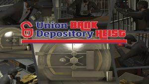 مد The Union Depository Heist برای GTA V