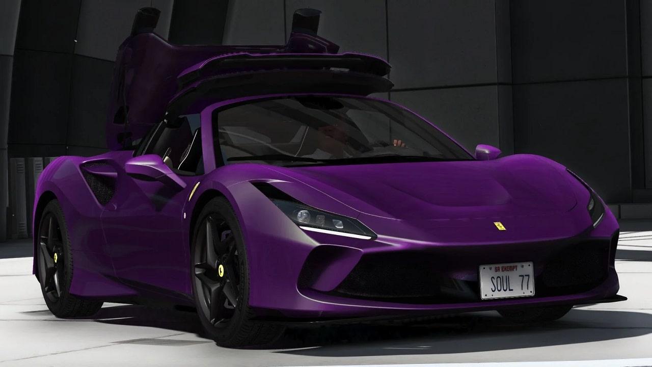 خودرو Ferrari F8 Spider 2020 برای GTA V