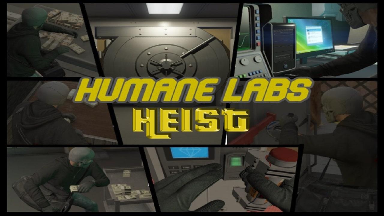 مود Humane Labs Heist برای GTA V