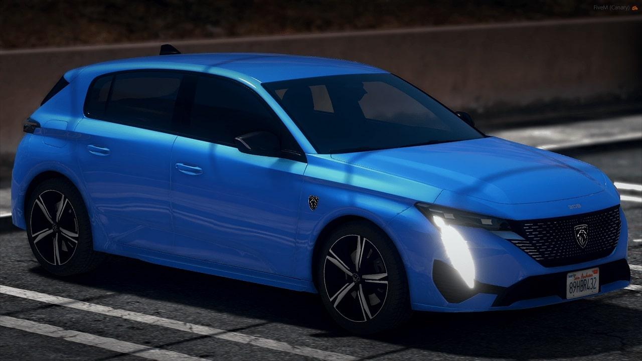 خودرو Peugeot 308 2022 برای GTA V